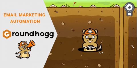 Groundhogg e-mail Marketing Automatisatie